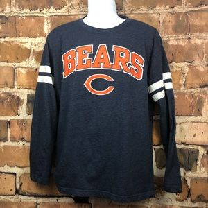 0788067b Men's NFL Chicago Bears Long sleeve Football Shirt